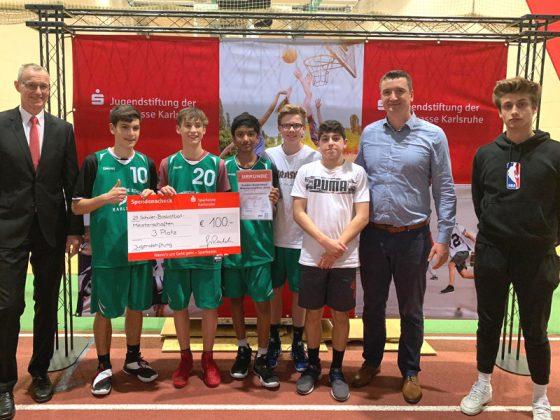WK B - Jungen, 3. Platz: Europäische Schule