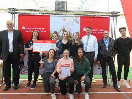 WK A/B - Mädchen, 1. Platz: Markgrafen-Gymnasium