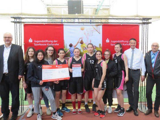 WK A/B - Mädchen, 3. Platz: Helmholtz-Gymnasium