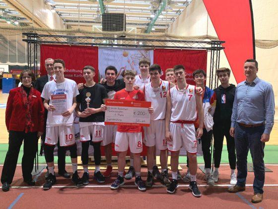 WK A - Jungen, 1. Platz: Otto-Hahn-Gymnasium