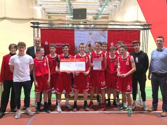 WK B - Jungen, 1. Platz: Otto-Hahn-Gymnasium