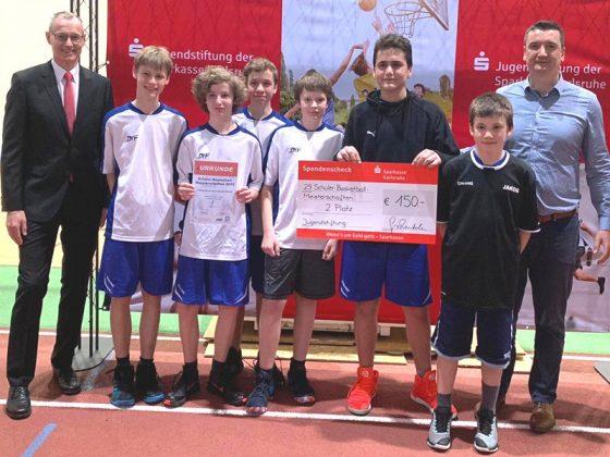 WK B - Jungen, 2. Platz: Ludwig-Marum-Gymnasium Pfinztal