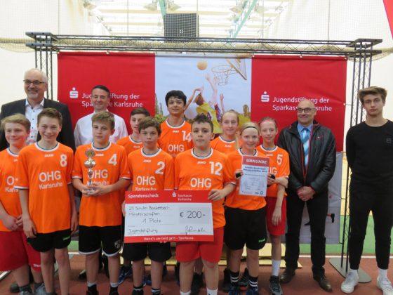 WK C - Mixed, 1. Platz: Otto-Hahn-Gymnasium