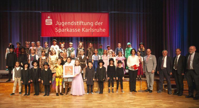 1. Preis: Grundschulchor der Gemeinschaftsschule Eggenstein