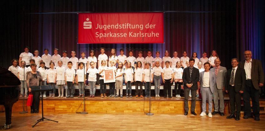 1. Preis: Grundschulchor der Grundschule Knielingen