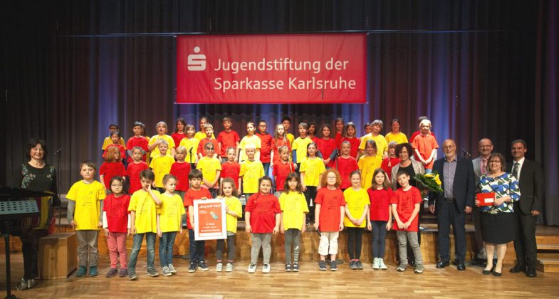 "2. Preis: Grundschulchor ""Ohrwürmer"" der Nordschule Neureut"