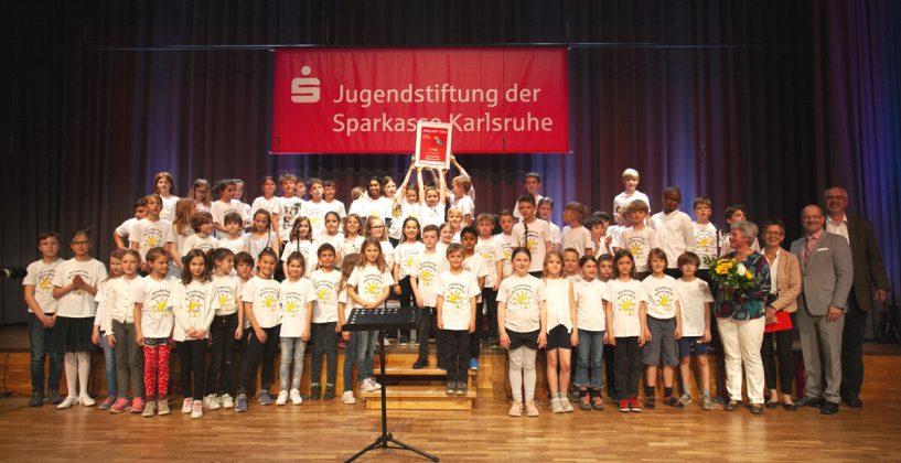 3. Preis: Grundschulchor der Grundschule Wolfartsweier