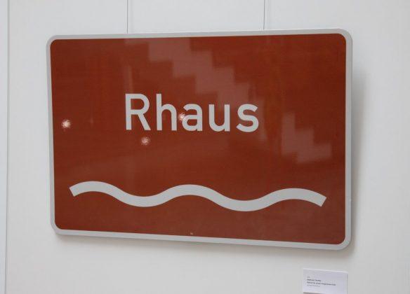 Andreas Techler, Schild für einen imaginären Fluß