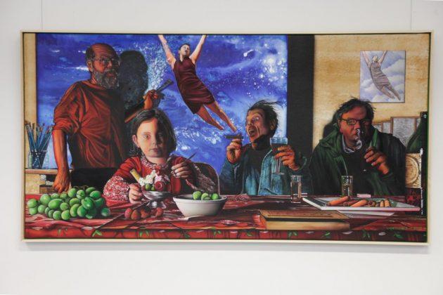 Karlheinz Treiber, Der Maler, von der Infantin Isabella und ihrem Gefolge beim Arbeiten gestört
