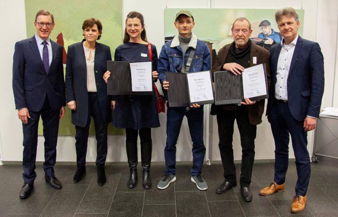 Kunstpreis 2020 Gruppenfoto