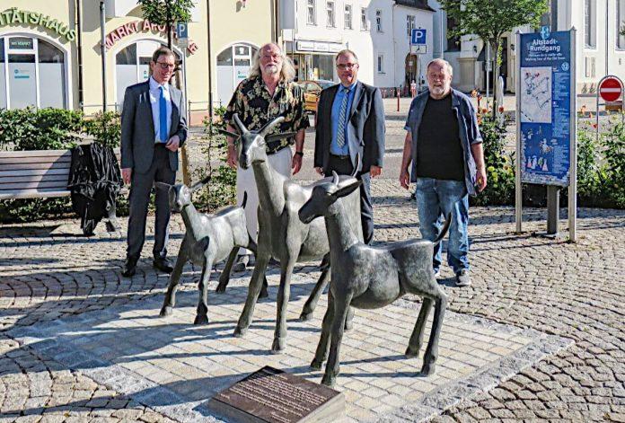 Geese-Familie bereichert Philippsburger Marktplatz