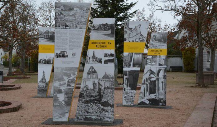Mahnmal zur Erinnerung an die Zerstörung von Mörsch