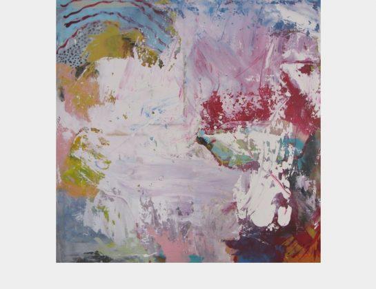 Doris Autenrieth, Schade um den Hummer, Acryl / Lw., 100 x 100 cm