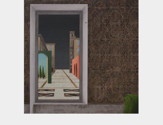 Anamaria Avram, Why does night come?, Acryl, Eitempera, Öl / Lw., 100 x 100 cm (reserviert)