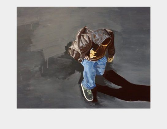 Andrea Streit, Ohne Titel, Eitempera / Leinen, 105 x 140 cm