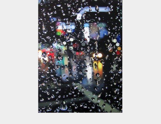 Jungmin Park, In der Nacht, Öl / Lw., 80 x 60 cm