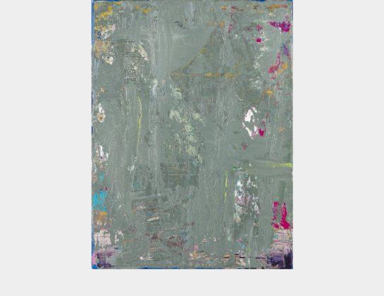 Barbara Schricke, Grey Haze, Öl / Lw., 40 x 30 cm