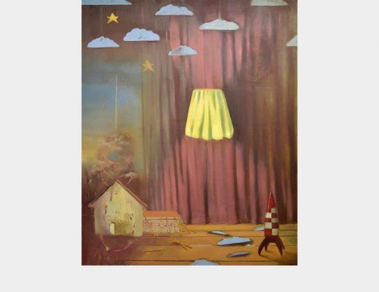 Nominiert: Fabian Hübner, Starman, Öl / Lw., 135 x 110 cm