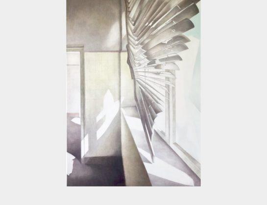 Ulrike Gerst, o.T. / Serie Born, Öl / Lw., 140 x 100 cm