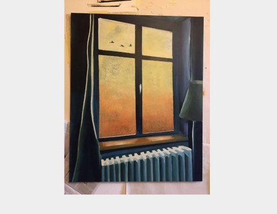 Claudia Frey, Freiheit, Acryl / Lw., 100 x 80 cm
