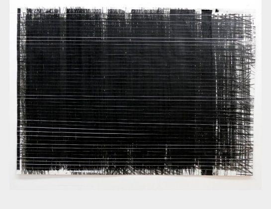 Ewa Stawiarska-Zygalska, Transluzid, Kohle, Kreide, Graphit / Papier, 70 x 100 cm