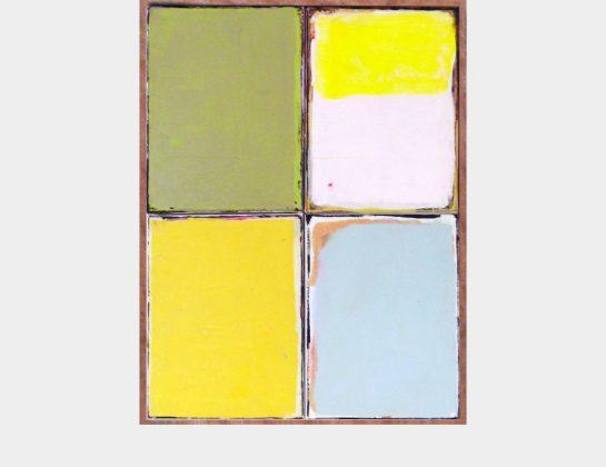 Jonas Burglind, Licht, Acryl / Lw., 50 x 38 cm