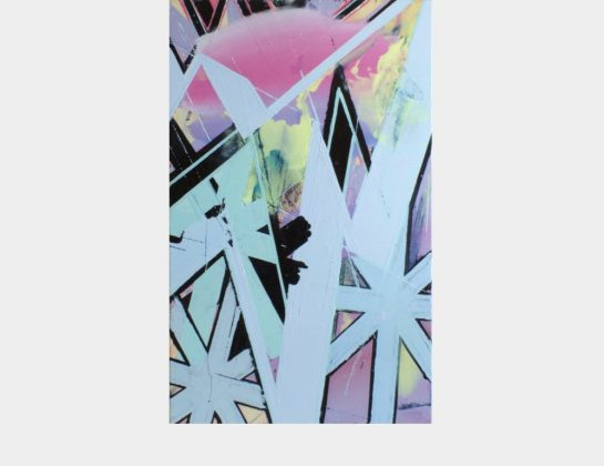 Alexander Denkert, la petite foudre x, Öl / Lw., 145 x 90 cm