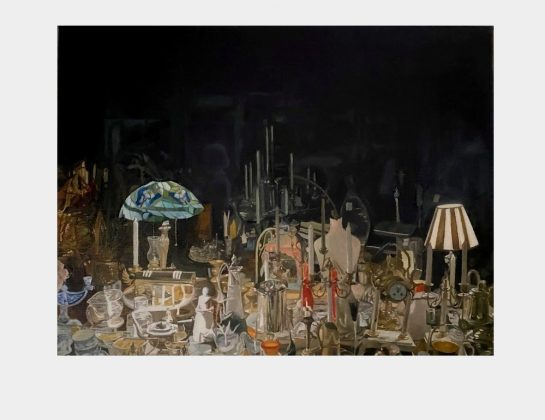 Jared Boechler, The Night Tourist, Öl / Lw., 24 x 31 cm