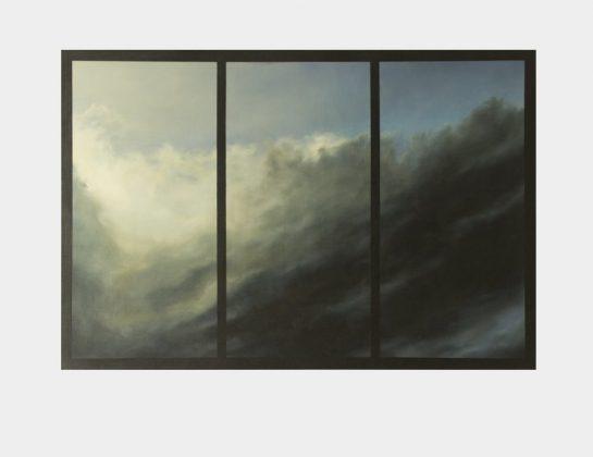 Tanja Bremer, Light On Earth, Eitempera u. Öl / Leinen, 105 x 155 cm