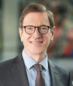 Michael Huber, Vorstandsvorsitzender der Sparkasse Karlsruhe